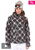 BURTON Womens Penelope Jacket 2012 true black bias plaid