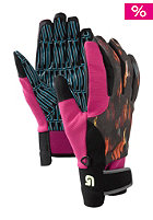 BURTON Womens Pipe Glove raw edged