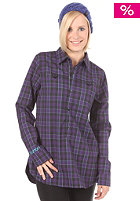 BURTON Womens Player Flannel L/S Shirt mulberry mischief plaid