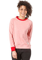 BURTON Womens Premium Otto Crewneck Sweat HEATHER CARDINAL