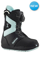 BURTON Womens Progression Boa Boot black/light blue