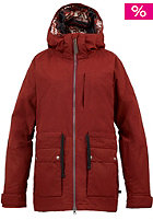 BURTON Womens Prowess Jacket redwood