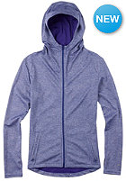 BURTON Womens Ps Negani Hooded Zip Sweat royal blue heather
