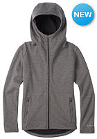 BURTON Womens Ps Negani Hooded Zip Sweat true black heather