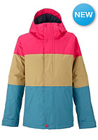 BURTON Womens Radiant Jacket marilyn colorblock