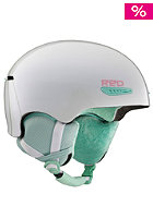BURTON Womens RED Pure Helmet white rein