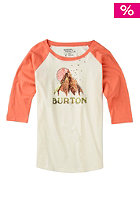 Womens Sage Raglan fresh salmon