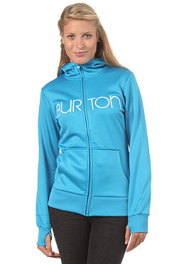 BURTON Womens Scoop Hooded Zip Sweat blue ray