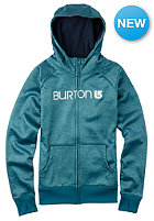 BURTON Womens Scoop Hooded Zip Sweat celestial heather