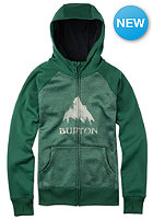 BURTON Womens Scoop Hooded Zip Sweat pineneedle heather