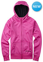 BURTON Womens Scoop Hooded Zip Sweat raspberry rose