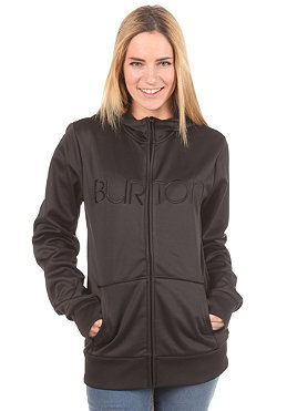 BURTON Womens Scoop Hooded Zip Sweat true black