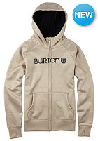 BURTON Womens Scoop Hooded Zip Sweat vanilla heather