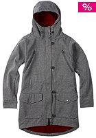 BURTON Womens Soteil Snow Jacket true black heather
