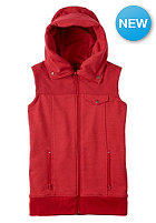 BURTON Womens Starr Vest chili pepper heather