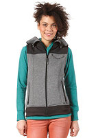 BURTON Womens Starr Vest TRUE BLACK HEATHER