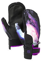BURTON Womens Starsha Mitt Gloves gas station wolves