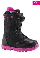 Womens Starstruck Boa Boot black/pink