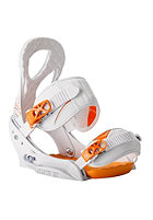 BURTON Womens Stiletto EST 2014 white and orange