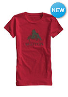 BURTON Womens STMDMTN S/S T-Shirt chili pepper