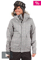 BURTON Womens Tabloid Jacket 2012 bright white prince of wales