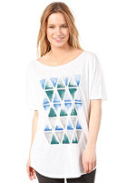 BURTON Womens Trinity FT S/S T-Shirt STOUT WHITE