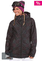 BURTON Womens TWC Hot Tottie Jacket 2012 true black ghost check
