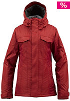 BURTON Womens TWC Sugartown Jacket red handed