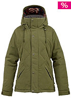 BURTON Womens WB Eden Down Jacket burnt olive
