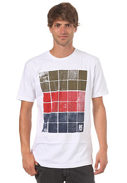 BURTON Woodblocks S/S T-Shirt stout white