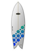 BUSTER Surfboard IX-PS 6'4 22''1/3 3'' Retro Fish one colour
