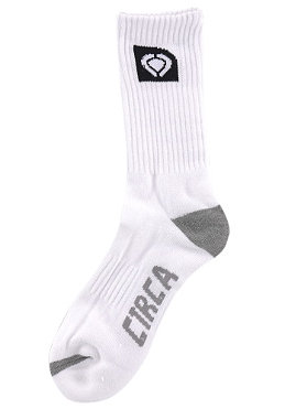 C1RCA Basic Crew Socks white