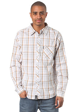 C1RCA Fellers L/S Shirt gray/orange plaid