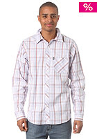 C1RCA Geller L/S Shirt white/blue plaid