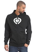 C1RCA Icon Hooded Zip Sweat black