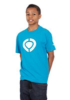 C1RCA KIDS/ Icon S/S T-Shirt cyan