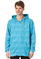 C1RCA Rail Hooded Zip Fleece horizon blue