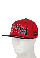 C1RCA Roadtrip Snapback Cap red