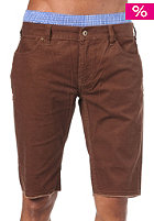 C1RCA SK8 Destroy Shorts brown