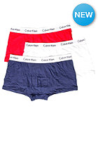 CALVIN KLEIN 3 Pack Low Rise Boxershort white/red ginger/pyro blue