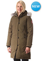 CANADA GOOSE Womens Kensington Parka Jacket military green