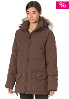 CANADA GOOSE Womens Solaris Parka Jacket brown