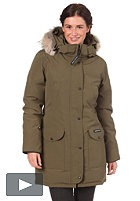 CANADA GOOSE Womens Trillum Parka Jacket military green