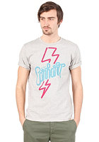 CARHARTT 24 Hours S/S T-Shirt light grey heather/multicolor