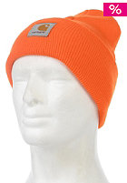 CARHARTT Acrylic Watch Beanie carhartt orange