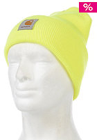CARHARTT Acrylic Watch Beanie fluo yellow