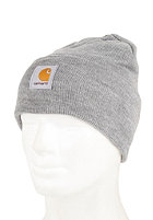CARHARTT Acrylic Watch Beanie grey heather