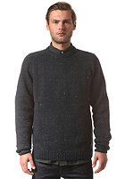 CARHARTT Anglistic Knit Sweat dark petrol heather