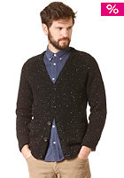 CARHARTT Anglistic V-Neck Cardigan black heather