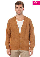 CARHARTT Anglistic V-Neck Cardigan carhartt brown heather